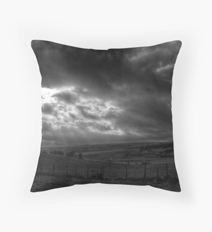 Domination is in the sky Throw Pillow