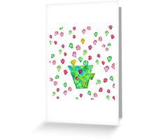 BE SIMPLE Greeting Card