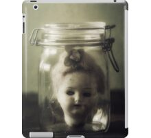 doll in jar iPad Case/Skin