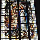 Window in Church of Our Lady, Aarschot by Graeme  Hyde