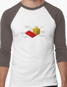 LEGO Dimensions Men's Baseball ¾ T-Shirt