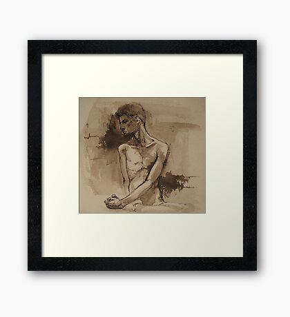 eric Framed Print
