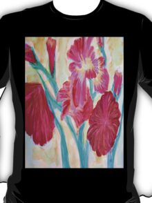 Red Blooms T-Shirt