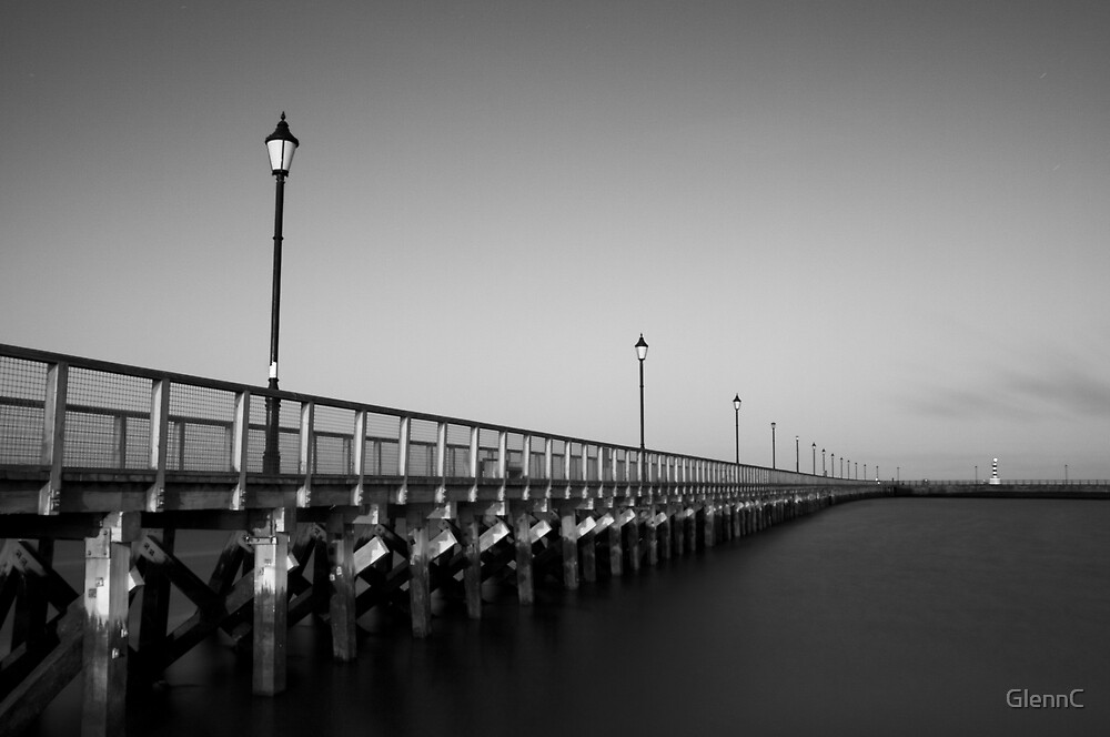 Amble pier by GlennC