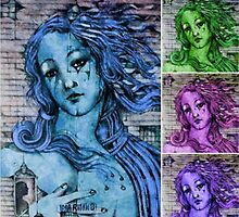 Venus in 4 Flavours  by John Dicandia  ( JinnDoW )