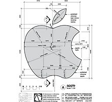 Apple Construction Dimensions Photographic Print