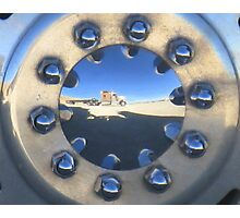 Reflection in the Desert Photographic Print