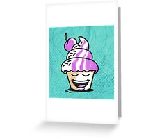 just another cupcake Greeting Card