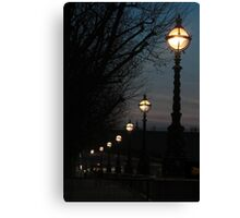 London Pearls Canvas Print