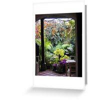 Antigua Doorway Greeting Card