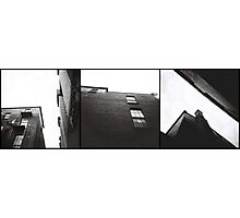 look up triptych Photographic Print