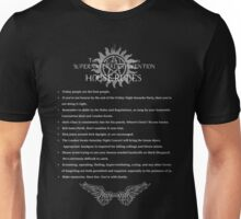 Supernatural Convention House Rules Unisex T-Shirt