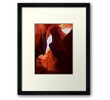 Antelope Slot Canyon  Framed Print
