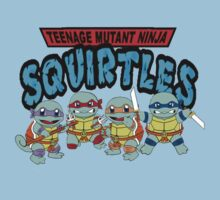 Teenage mutant ninja squirtles by IllTrill
