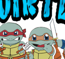 Teenage mutant ninja squirtles Sticker