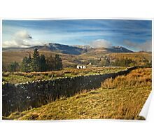 The Howgills from Uldale, Cumbria Poster
