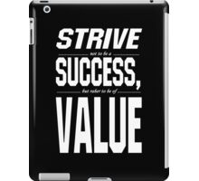 Strive sussess value Funny Geek Nerd iPad Case/Skin