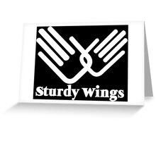 STURDY WINGS Funny Geek Nerd Greeting Card
