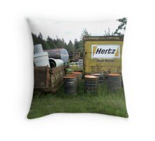 Forgotten Things Throw Pillow
