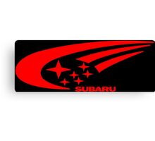 Subaru Funny Geek Nerd Canvas Print