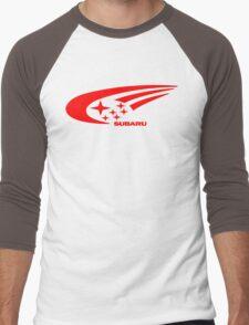 Subaru Funny Geek Nerd Men's Baseball ¾ T-Shirt