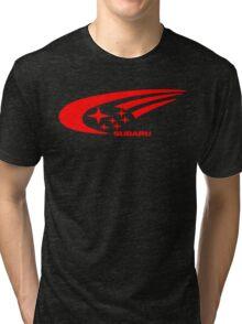 Subaru Funny Geek Nerd Tri-blend T-Shirt