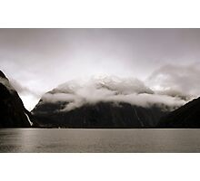 In the Hall of the Mountain King - Halo. Photographic Print