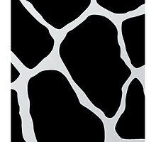 Black giraffe cow  by UniqueCase