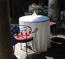 A Romantic Table for Two by Pat Yager