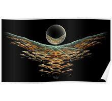 'Nightbird and Orb' Poster