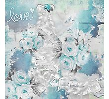 Love in Blue Photographic Print