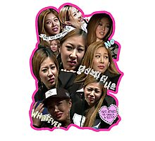 Many faces of Jessi. Photographic Print