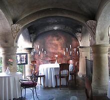 Dinner Under the Arches #2 by Pat Yager