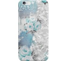 Love in Blue iPhone Case/Skin