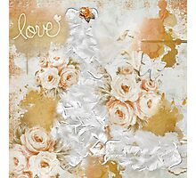 Love in Orange Photographic Print