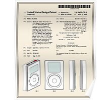 Apple IPod Patent Poster