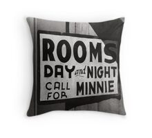 Rooms For Rent, 1939 Throw Pillow