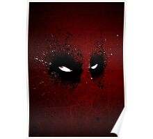 Paint Splatter Villaines : Deadpool Poster