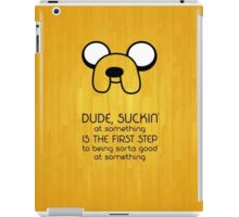 Adventure time Jake iPad Case/Skin