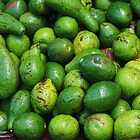 Avocados in the Market by gustinegirl
