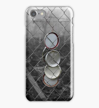 Scare away the birds iPhone Case/Skin