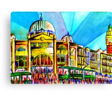 Flinders Street Station, Melbourne Australia Canvas Print