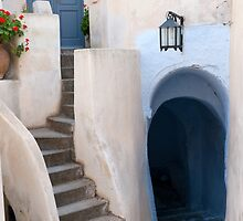 Emporio on the island of Santorini by BRENDA KEAN
