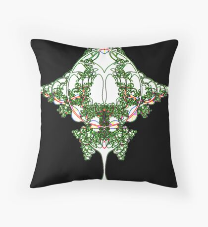 'Angelic Organics' Throw Pillow