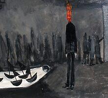 black boats by glennbrady