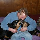Rottweiler Love by Karen K Smith
