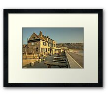 Cove House Inn  Framed Print