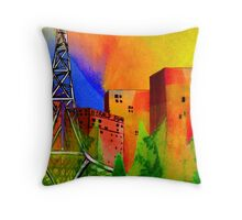Arts Gallery , Melbourne Australia Throw Pillow