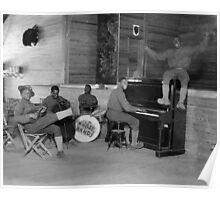 Army Jazz Band, 1918 Poster