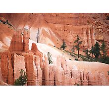 Bryce Canyon's Natural Sculptures Photographic Print